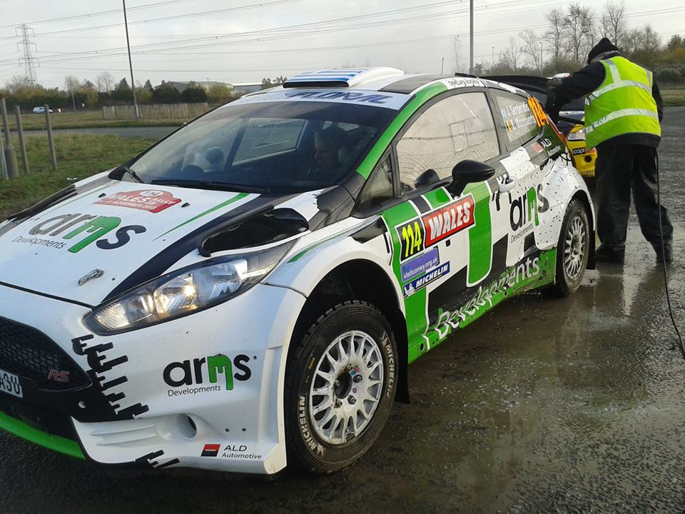 Working at the Wales Rally GB 2014